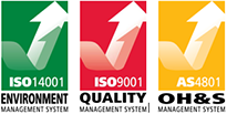 Environment, Quality and OH&S Best Practice Certifications